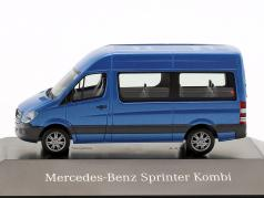 Mercedes-Benz Sprinter Kombi south seas blue metallic 1:87 Herpa