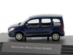 Mercedes-Benz Citan Kombi tinten blau 1:87 busch
