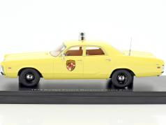 Dodge Polara Maryland State Police year 1972 yellow 1:43 Neo
