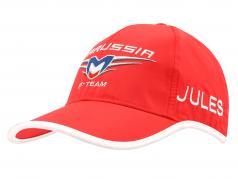 Jules Bianchi Driver Cap Marussia Formel 1 2014 rot / weiß
