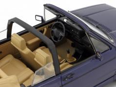 Volkswagen VW Golf Cabriolet Baujahr 1992 dunkelblau metallic 1:18 Norev