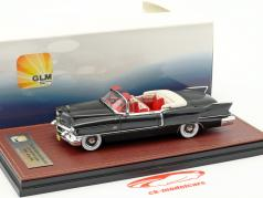 Cadillac Eldorado Biarritz Convertible Open Top year 1956 dark gray metallic 1:43 GLM