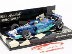 Nick Heidfeld Sauber C20 #16 GP Malaysia formula 1 2001 1:43 Minichamps