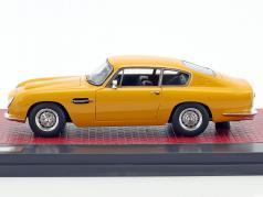 Aston Martin DB6 Vantage year 1965 yellow 1:43 Matrix