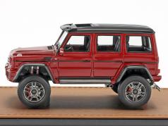 Mercedes-Benz AMG G550 4x4 year 2016 red metallic / black 1:43 GLM