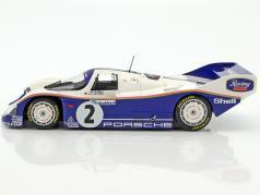 Porsche 962 C #2 vincitore 1000km Hockenheim 1985 Stuck, Bell 1:18 Minichamps