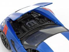 Chevrolet Corvette Grand Sport anno 2017 blu / bianco 1:24 Maisto