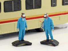 Fleetwood Bounder year 1986 TV series Breaking Bad 2008-13 With 2 blue characters 1:64 Greenlight