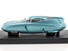 Alfa Romeo B.A.T. 7 Concept Car Turin Motor Show 1954 Light Blue metallic 1:43 AutoCult