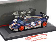 McLaren F1 GTR #25 24h LeMans 1995 Raphanel, Alliot, Owen-Jones 1:43 Minichamps