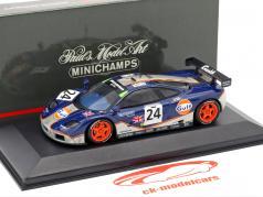 McLaren F1 GTR #24 24h LeMans 1995 Bellm, Blundell, Sala 1:43 Minichamps