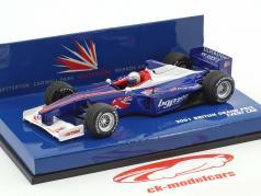 Event Car British Grand Prix Silverstone formula 1 2001 1:43 Minichamps