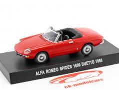 Alfa Romeo Spider 1600 Duetto anno di costruzione 1966 rosso 1:43 Altaya