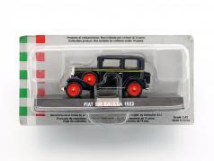 Fiat 508 Balilla anno di costruzione 1932 nero 1:43 Altaya