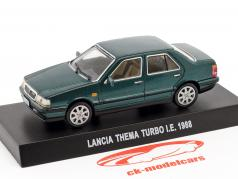 Lancia Thema Turbo I.E. year 1988 dark green metallic 1:43 Altaya