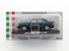 Lancia Thema Turbo I.E. anno di costruzione 1988 scuro verde metallico 1:43 Altaya