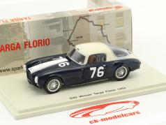 Lancia D20 #76 vincitore Targa Florio 1953 Umberto Maglioli 1:43 Spark