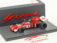 Ronnie Peterson March 721 #3 Sudafrica GP formula 1 1972 1:43 Spark