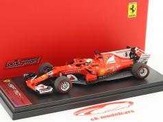 Sebastian Vettel Ferrari SF70H #5 vincitore monaco GP formula 1 2017 1:43 LookSmart