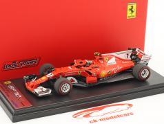 Kimi Räikkönen Ferrari SF70H #7 2 ° monaco GP formula 1 2017 1:43 LookSmart