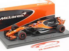 Jenson Button McLaren MCL32 #22 Monaco GP formule 1 2017 1:43 Spark