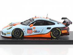Porsche 911 RSR #86 24h LeMans 2017 Wainwright, Barker, Foster 1:43 Spark