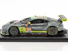 Aston Martin Vantage GTE #98 24h LeMans 2017 Dalla Lana, Lauda, Lamy 1:43 Spark