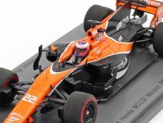 Jenson Button McLaren MCL32 #22 monaco GP formula 1 2017 1:43 Spark