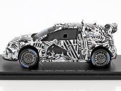Volkswagen VW Polo prova auto WRC 2017 1:43 Spark