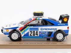 Peugeot 405 T16 Grand Raid #204 Rallye Paris - Dakar 1988 Vatanen, Berglund 1:43 Spark