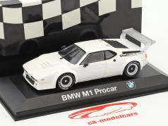 BMW M1 Procar white 1:43 Minichamps