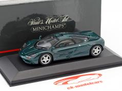 McLaren F1 roadcar green metallic 1:43 Minichamps