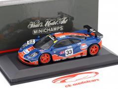 McLaren F1 GTR #33 24h LeMans 1996 Bellm, Weaver, Lehto 1:43 Minichamps