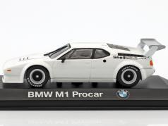 BMW M1 Procar white 1:43 Minichamps