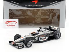 David Coulthard McLaren MP4/15 #2 formula 1 2000 1:18 Minichamps