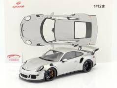 Porsche 911 (991) GT3 RS year 2016 silver 1:12 Spark