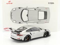 Porsche 911 (991) GT3 RS ano de construção 2016 prata 1:12 Spark