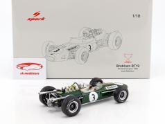 Jack Brabham Brabham BT19 #3 campione del mondo formula 1 1966 1:18 Spark