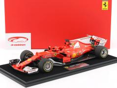 S. Vettel K. Räikkönen Ferrari SF70H Presentation Car formula 1 2017 With Showcase 1:18 LookSmart
