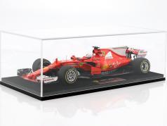 Sebastian Vettel Ferrari SF70H #5 vincitore Australia GP formula 1 2017 con vetrina 1:18 LookSmart
