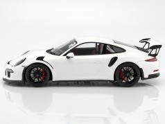 Porsche 911 (991) GT3 RS year 2016 white 1:12 Spark