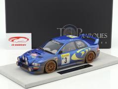 Subaru Impreza S4 WRC Dirty version #3 3rd Rallye Monte Carlo 1998 McRae, Grist 1:18 TopMarques