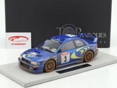 Subaru Impreza S4 WRC Dirty version #3 Winner Tour de Corse 1998 McRae, Grist 1:18 TopMarques