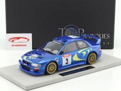 Subaru Impreza S4 WRC #3 Winner Tour de Corse 1998 McRae, Grist 1:18 TopMarques