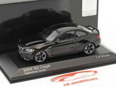 BMW M2 coupé année de construction 2016 saphir noir métallique 1:43 Minichamps