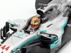 Lewis Hamilton Mercedes F1 W08 EQ Power  #44 Winner Chinese GP World Champion Formula 1 2017 1:18 Spark