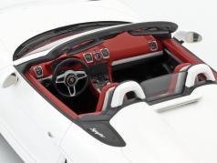 Porsche Boxster Spyder year 2016 white 1:18 Spark
