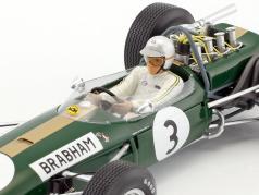 Jack Brabham Brabham BT19 #3 World Champion Formel 1 1966 1:18 Spark
