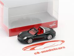 Porsche 911 (991) Targa 4S noir 1:87 Herpa