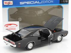 Dodge Charger R/T anno di costruzione 1969 nero 1:18 Maisto